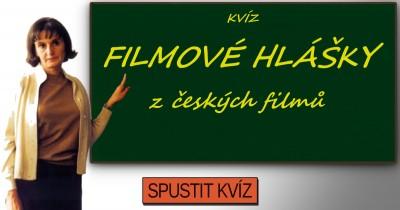 Hlášky z českých filmů - kvíz