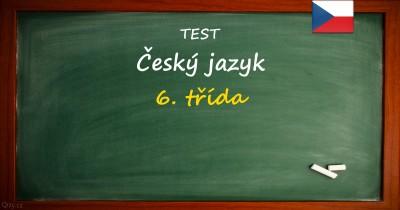 Český jazyk pro 6. třídu