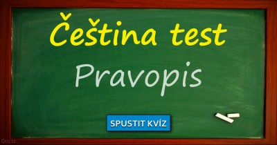 Čeština test - Pravopis