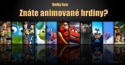 Znáte postavy z animovaných filmů?