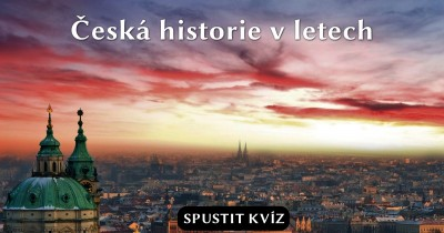 Česká historie v letopočtech