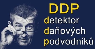 Detektor daňových podvodníků