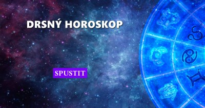Drsný horoskop