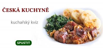 Česká kuchyně - kuchařský kvíz