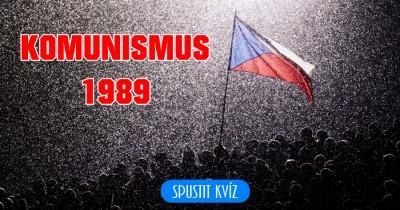Komunismus 1989
